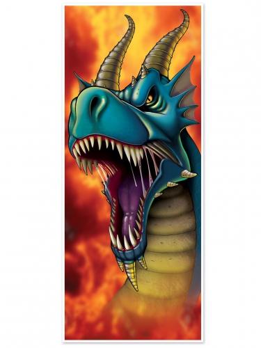 Decorazione per porta con dragone