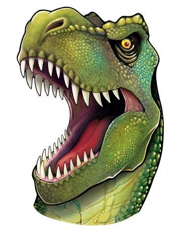 Decorazione murale testa di dinosauro