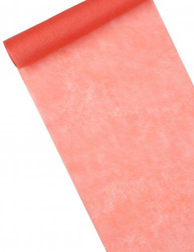 Runner da tavola in tessuto non tessuto corallo