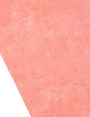 Runner da tavola in tessuto non tessuto corallo-1
