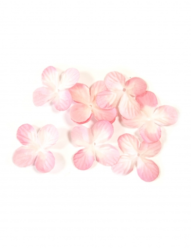 24 decorazioni fiori rosa