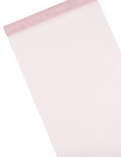 Rotolo di tulle decorativo rosa