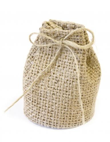 4 sacchetti in tela naturali