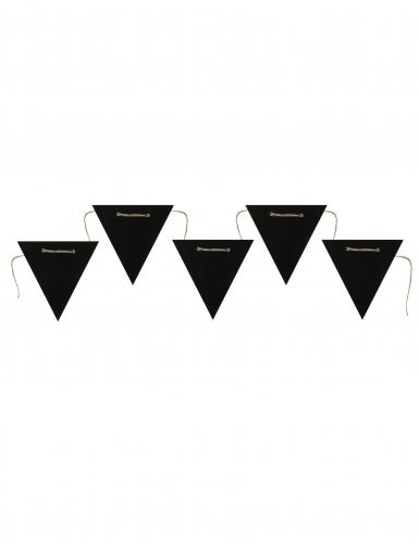 Ghirlanda con 5 lavagnette nere