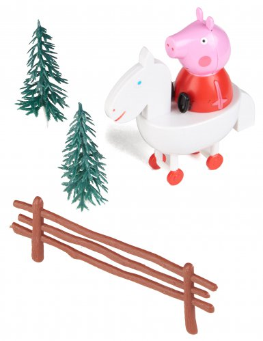 Kit di decorazioni per torta Peppa Pig™