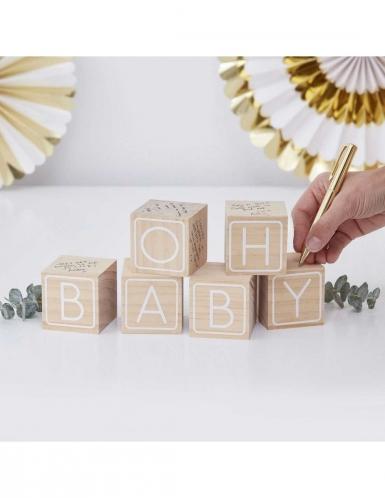 Libro per firme con cubi Oh Baby-2
