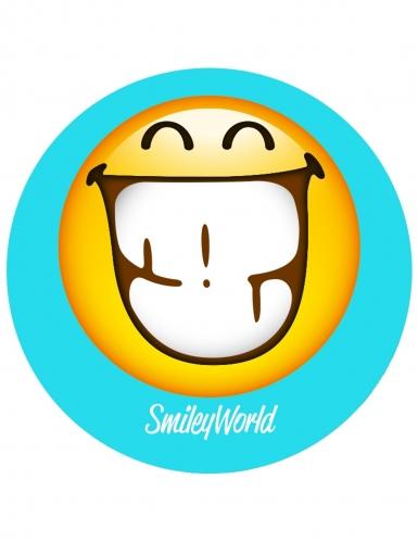 12 decorazioni di zucchero per biscotti Smiley™-1