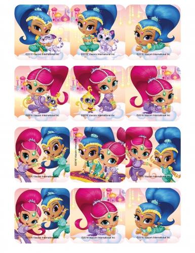 12 vignette di zucchero per biscotti Shimmer & Shine™