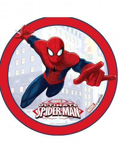 Disco di ostia Spiderman™ bordo rosso