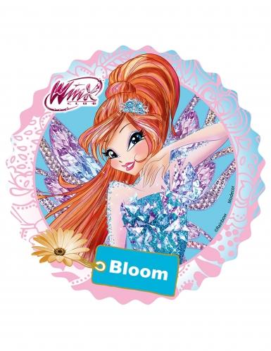 Disco di ostia Winx™ con Bloom 21 cm