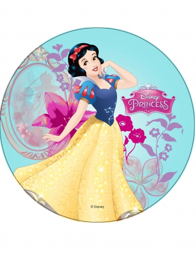 Disco in ostia Biancaneve 21 cm Princesses Disney ™