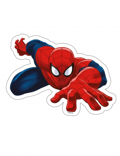 Foglio in ostia Ultimate Spiderman™ 23 x 17 cm