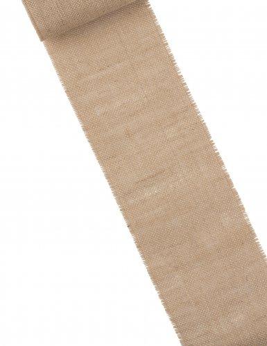 Runner da tavola in iuta 15 cm x 5 m