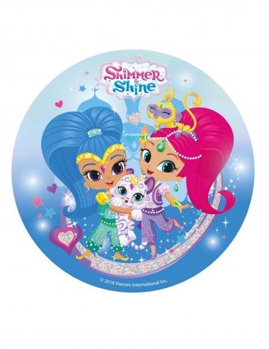 Disco di zucchero Shimmer & Shine™ 20 cm