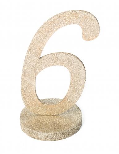 Centrotavola color champagne numero 6