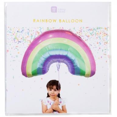 Palloncino alluminio arcobaleno color pastello-1