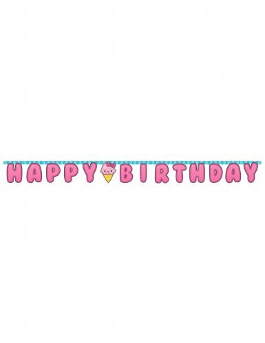 Ghirlanda Happy Birthday Junk Food