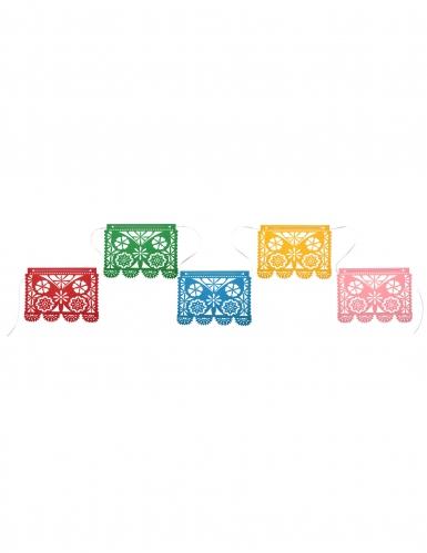 Ghirlanda di carta messicana motivi multicolor