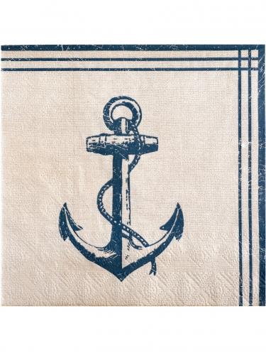 20 tovaglioli di carta tema mare