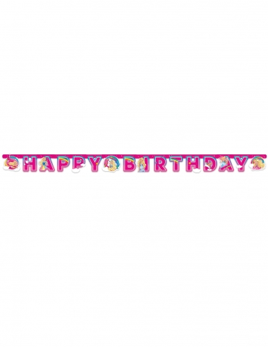 Ghirlanda di carta Happy Birthday Barbie Dreamtopia™-1