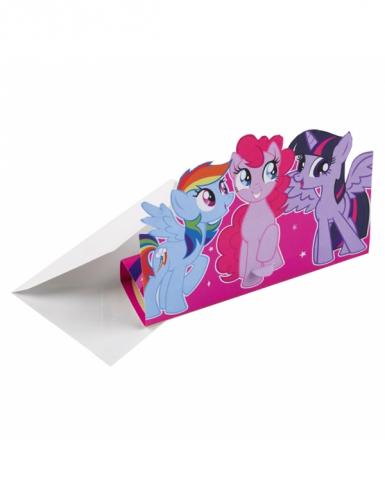 8 inviti di compleanno My little pony™