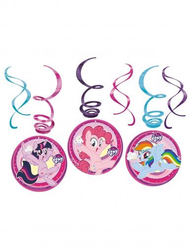 6 sospensioni a spirale My little pony™