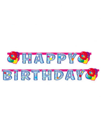 Ghirlanda Happy Birthday palloncini party