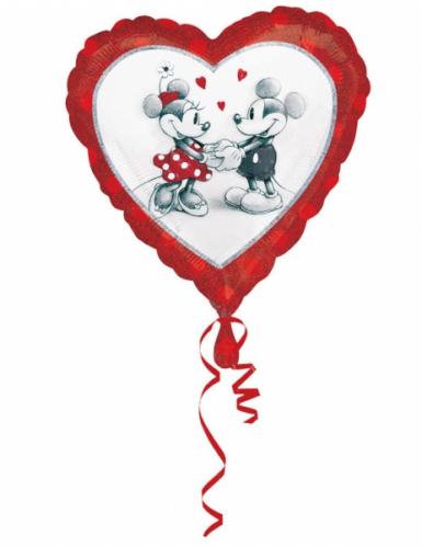 Palloncino alluminio cuore Topolino™ & Minnie™