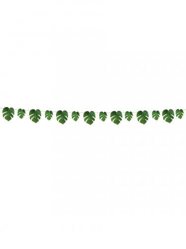 Ghirlanda di foglie tropicali-1