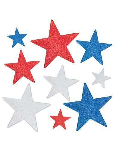 9 decorazioni per parete stelle americane