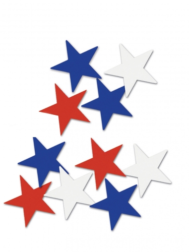 10 decorazioni da tavola stelle USA