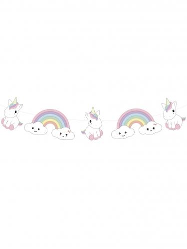 Ghirlanda di carta baby unicorno-1