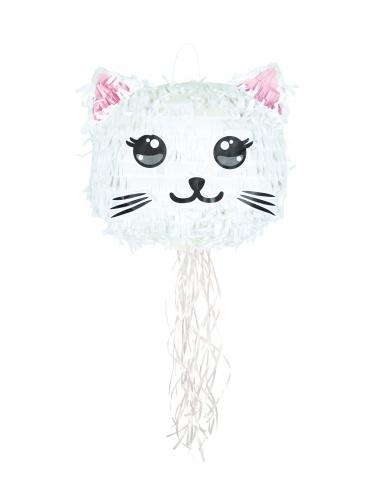 Pignatta gatto bianco