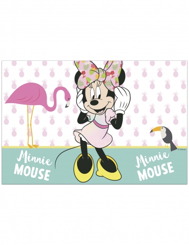 Tovaglia di plastica Minnie™ tropical