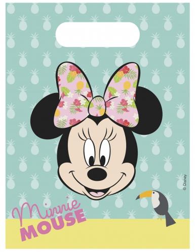 6 sacchetti regalo Minnie™ tropical