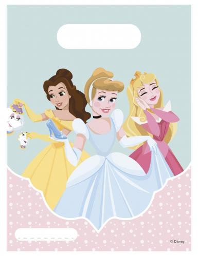 6 sacchetti regalo pastello principesse Disney™