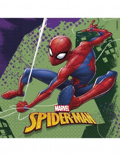 20 tovaglioli di carta Spiderman™