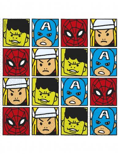 20 tovaglioli colorati Avengers™