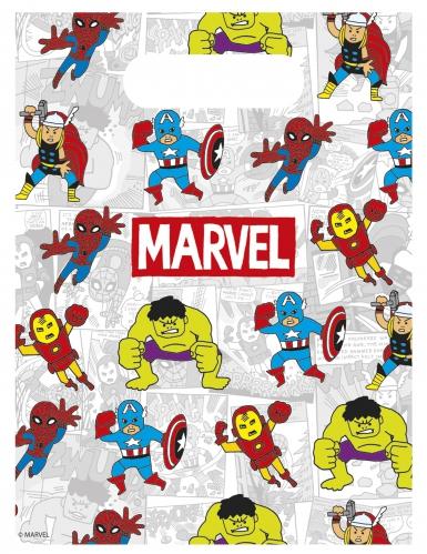 6 sacchetti regalo colorati Avengers™