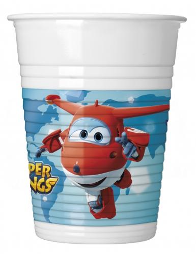 8 bicchieri di plastica Super Wings™