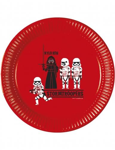 8 piatti in cartone Star Wars Forces of destiny™ 23 cm