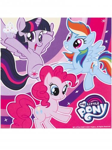20 tovaglioli di carta My little pony™