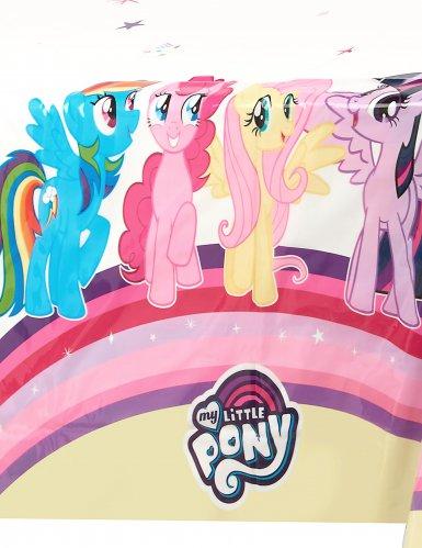 Tovaglia bianca in plastica My little pony™-1