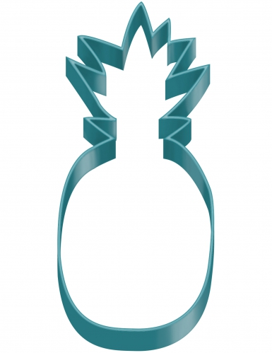 Tagliapasta blu a forma di ananas