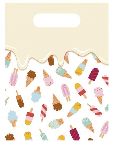 6 sacchetti regalo passione gelato