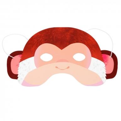 8 maschere in cartone animali della giungla-1