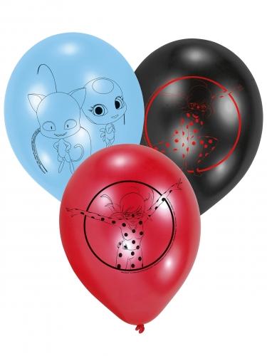 6 palloncini in lattice tema Ladybug™