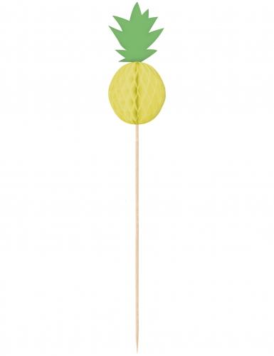 10 stecchini aperitivo ananas
