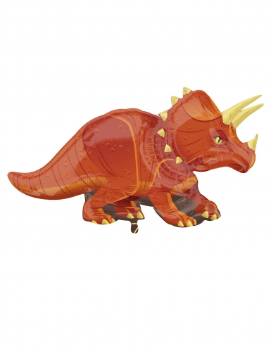 Palloncino alluminio dinosauro marrone