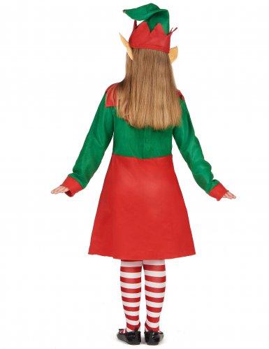 Costume da elfo di Natale per bambina-2
